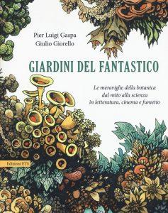 """Cpertina del libro """"Giardini del fantastico"""""""