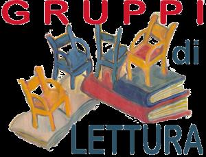 Logo dei gruppi di lettura, disegno.
